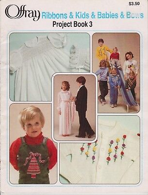 Offray Ribbons & Kids & Babies & Bows Project Book 3