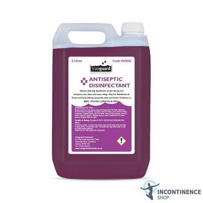 Vanguard Antiseptic Disinfectant - Odourless - 5 Litres