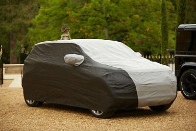 Range Rover Evoque Tailored Breathable CUSTOM Car Cover - Black & Grey