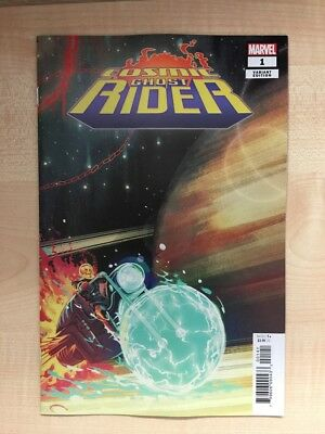 Cosmic Ghost Rider #1 - Stephanie Hans cover - 1:25 variant - Bagged & Boarded