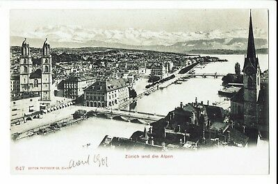 CPA - Carte postale - Suisse - Zurich - Panorama - S1052