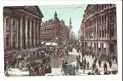 CPA - Carte postale -  Royaume uni - London - The Mansion house- S1057