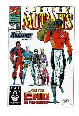 New Mutants #99, VF 8.0, 1st Appearance Shatterstar and Feral