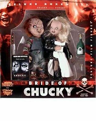 Movie Maniacs 2 BRIDE OF CHUCKY. Action Figures Deluxe boxed set