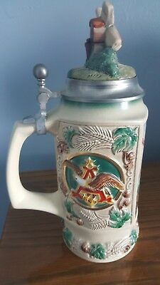 The Bevo Mill Lidded Collectors Club Members Stein