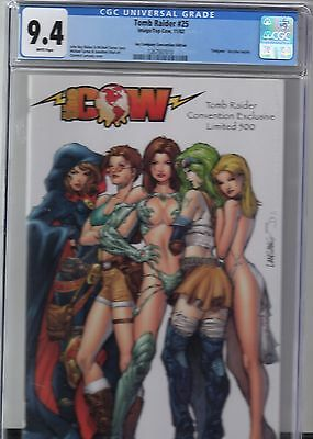 Tomb Raider # 25 CGC 9.4 Jay Company Convention Edition Exclusive