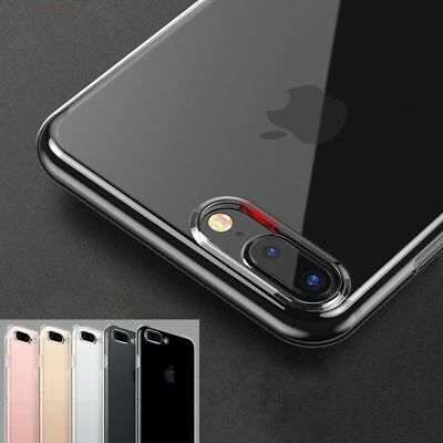 NEW Ultra Soft Clear Cover TPU Rubber Silicone Gel Transparent Case For iPhone 8