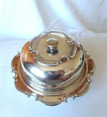 Lovely Antique  Ornate Muffin / Breakfast / Food Warmer