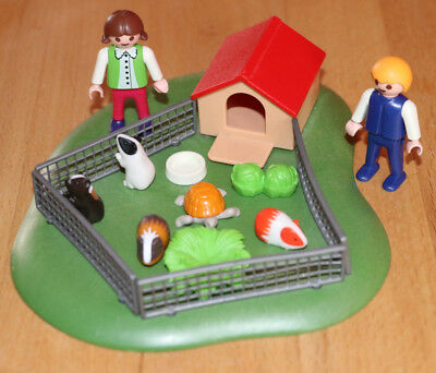 Playmobil wie 3210 ★ Meerschweinchengehege ★ Country City Life - TOP