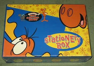 Rocky And Bullwinkle Stationary Set New In Box