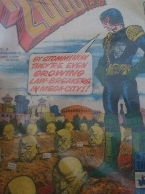 2000Ad Prog 18 (Issue 18) Excellent Condition