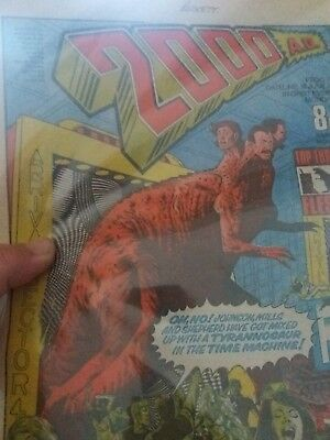 2000Ad Prog 17 (Issue 17) Excellent Condition