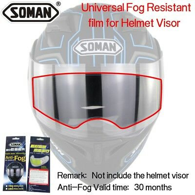 Soman AV02 Brand Anti-Fog Lens Film Universal for The Motorcycle Helmet Visor