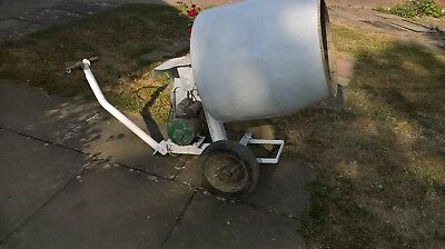used electric cement mixer. Full size mix. Full working order