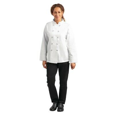 Whites Womens Chefs Jacket XS (Next working day UK Delivery)