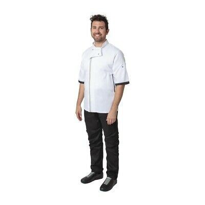 Whites Southside Unisex Chefs Jacket White L (Next working day UK Delivery)