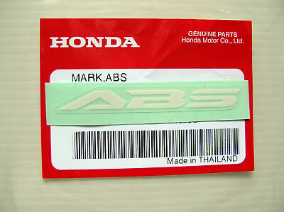 ORIGINAL Honda ABS  Aufkleber-Sticker-Logo-Emblem-Decal-Repsol/HRC Racing Bike W