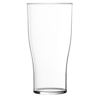 Polystyrene Beer Glasses 285ml CE Marked. (Pack of 48) (Next working day to UK)