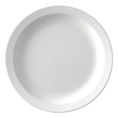 Kristallon Melamine Narrow Rimmed Plates 165mm (Pack of 12)