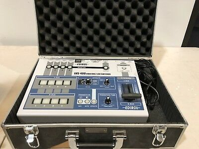 Edirol LVS-400 Digital AV Mixer - Video Switcher - Roland - Great Condition