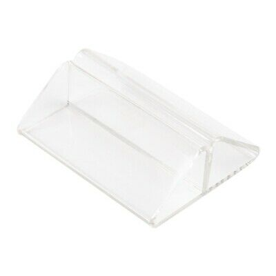 Acrylic Triangle Menu Holder (Next working day UK Delivery)