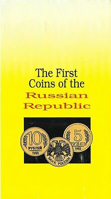 The First Coins of the Russian Republic - 1992 - 6 Coin Set