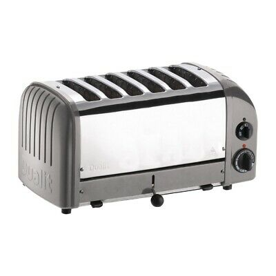 Dualit 6 Slice Vario Toaster Metallic Silver 60147 (Next working day to UK)
