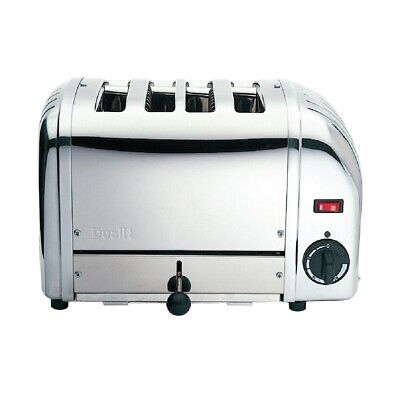 Dualit Bun Toaster 4 Bun White 43022 (Next working day UK Delivery)