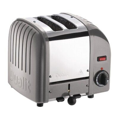 Dualit 2 Slice Vario Toaster Metallic Silver 20242 (Next working day to UK)