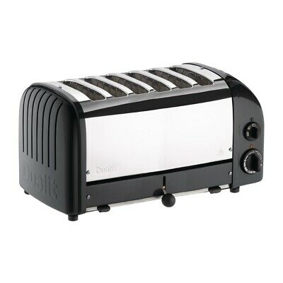 Dualit Bun Toaster 6 Bun Black 61020 (Next working day UK Delivery)