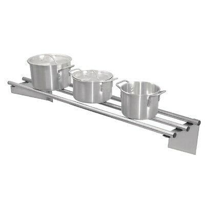 Vogue Stainless Steel Wall Shelf 1200mm (Next working day UK Delivery)