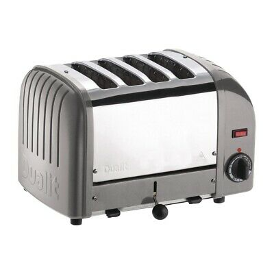 Dualit 4 Slice Vario Toaster Metallic Silver 40349 (Next working day to UK)