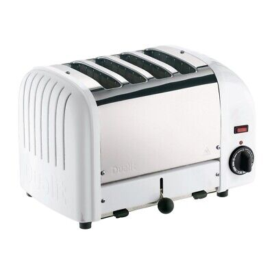 Dualit 2 x 2 Combi Vario 4 Slice Toaster White 42177 (Next working day to UK)