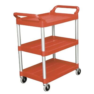 Rubbermaid Compact Utility Trolley Red (Next working day UK Delivery)
