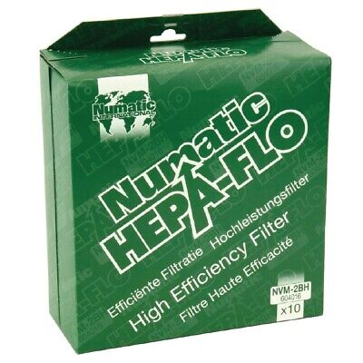 Numatic Vacuum Cleaner Bags (Pack of 10) (Next working day UK Delivery)