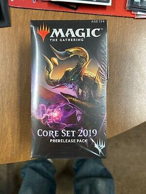 Magic The Gathering Core 2019 M19 Prerelease Kit Pack Lot Of 2 Same Day Shipping