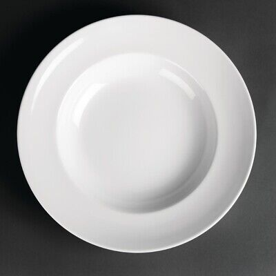 Royal Porcelain Classic White Pasta Plates 300mm (Pack of 12)