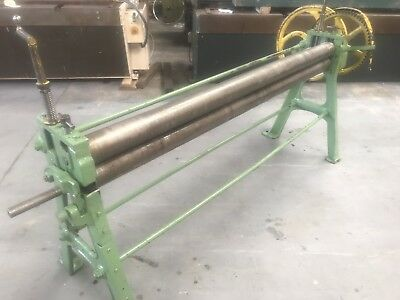 Edwards 1850mm X 100mm Heavy Duty Bending Rollers