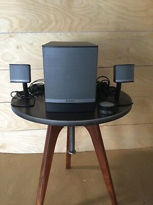 Bose® Companion® 3 Multimedia Computer Speaker System 3 Piece Subwoofer Black