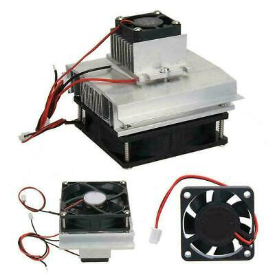 Thermoelectric Peltier Refrigeration System Kit Cooler Fan TEC1-12706Module S440