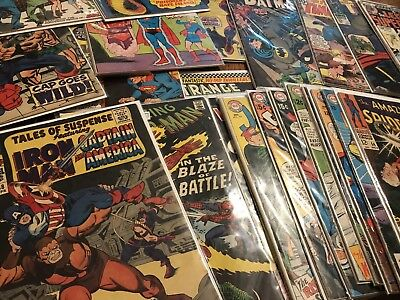 Awesome Silver Age Comic lot Grab Bag! Marvel,DC. Includes 5 Books (Random Grab)