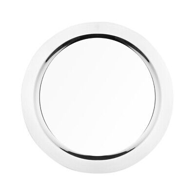 Olympia Food Presentation Tray Stainless Steel Round 400mm