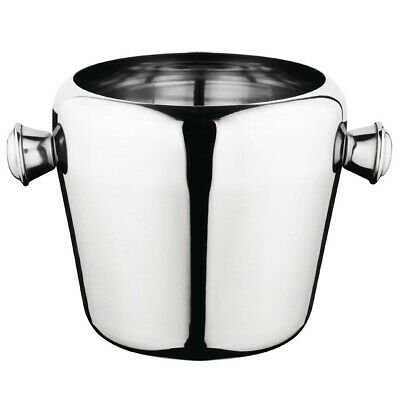 Olympia Mini Ice Bucket Stainless Steel 1Ltr (Next working day UK Delivery)