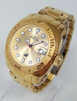 dc4c9a507 Invicta Pro Diver 14485 Men's 48mm Gold Tone S/Steel Automatic Watch SHIPS  FREE