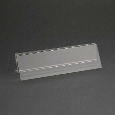 Olympia Wide Base Acrylic Menu Holder (Next working day UK Delivery)