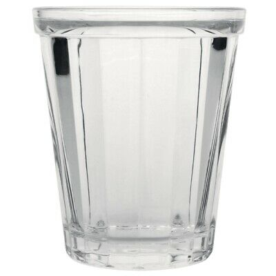 Olympia Cabot Panelled Glass Tumbler 260ml (Pack of 6) (Next working day to UK)