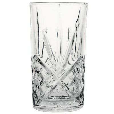 Olympia Old Duke Glass Tumbler 350ml (Pack of 6) (Next working day UK Delivery)