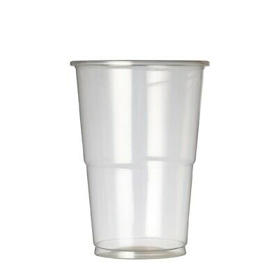 Plastico Premium Half Pint Glass CE Marked (Pack of 1000)