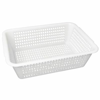 Vogue Square Colander White 357mm (Next working day UK Delivery)