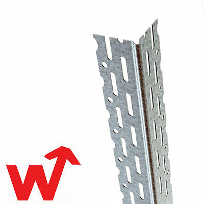 50x Catnic Drywall Plasterboard Thin Coat Steel Angle Bead 2.4M